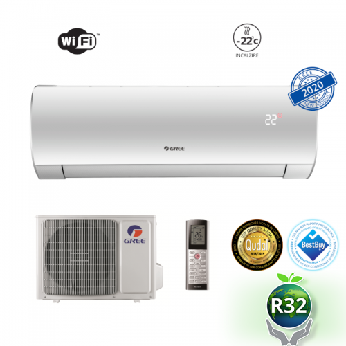 Aparat de aer conditionat Gree Fairy GWH12ACC-K6DNA1D Inverter 12000 BTU R32. A++
