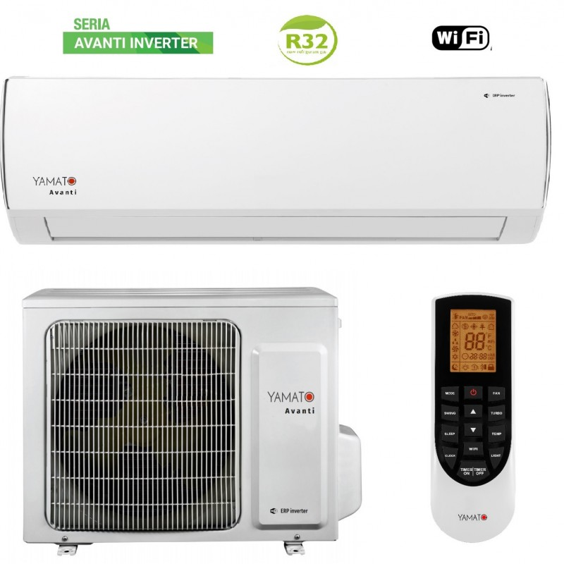 Aer Conditionat Yamato Avanti Inverter YW12IG7 12000 BTU , freon R32 ,clasa A++