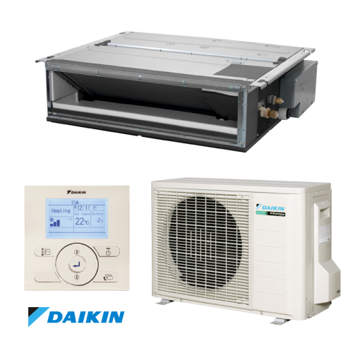 Aer Conditionat tip duct Daikin FDXM25F-RXM25M Inverter 9000 BTU