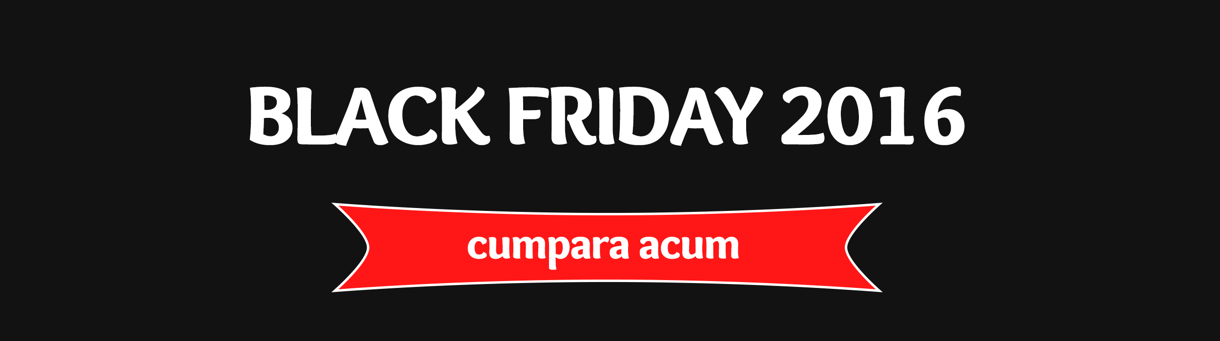 Black Friday 2016!